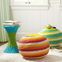 Color Pop Woven Side Tables