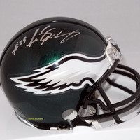 LeSean McCoy Signed Philadelphia Eagles Riddell Mini Helmet NFL