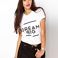 Brashy Couture Dream Big T-Shirt at asos.com