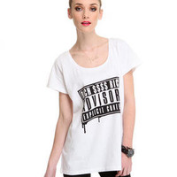 DJPremium.com - Women - Shop by Brand - Joyrich - Melting Rich Advisory Tee