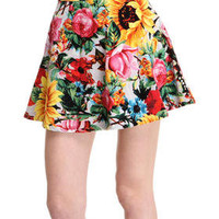 DJPremium.com - Women - Shop by Brand - Joyrich - Sunrise Blossom Pleated Skirt
