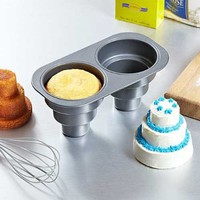 2 Cavity Three Tier Cake Pan:Amazon:Kitchen &amp; Dining