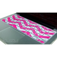 "Kuzy - Pink Chevron Zig-Zag Keyboard Cover for MacBook Pro 13"" 15"" 17"" Aluminum Unibody (fits MacBook with or w/out Retina Display) iMac and"