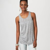 AEO Women's Printed Zip-back Tank