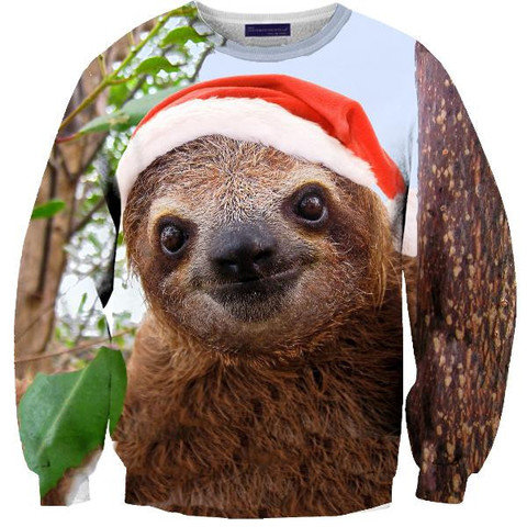 Christmas Sloth Sweater from Shelfies Epic Wishlist QwlkgKU8