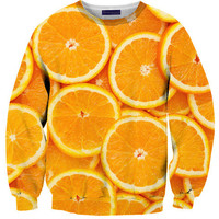 Orange Sweater | Shelfies - Outrageous Sweaters