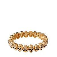 ASOS Skull Stretch Bracelet at asos.com