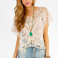 Suzanna Crochet Top $28