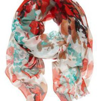 Sussan - Accessories - Scarves - Abstract floral scarf