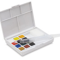 Sakura Koi Watercolor Sketch Box Travel Pan Sets - BLICK art materials