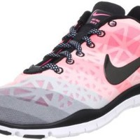 Amazon.com: Nike Wmns Free TR Fit 3 PRT White Pearlized Pink (555159-100) (8.5 B(M) US): Shoes