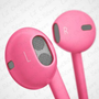 Amazon.com: Hot Pink Rose 3.5mm EarPods with Remote And Mic Latest Model for iPhone 5 & 4S 4G 3GS iPod Touch 5 Nano 7 etc. Compare to MD827LL/A with Crystal Box Retail Package: MP3 Players & Accessories