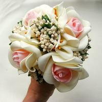 Romantic Roses Wedding Bouquet