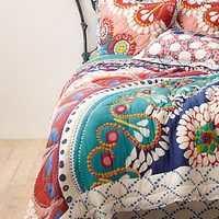 Tahla Quilt by Anthropologie Multi