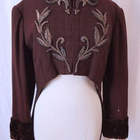 Very Rare 1940s Costume Designer Madame Barbara Karinska Theatrical Jacket