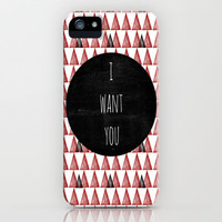 I want you iPhone & iPod Case by Skye Zambrana