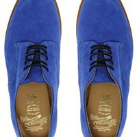 ASOS | Made in England for ASOS 8 Eye Lace Up Suede Flat Shoe at ASOS