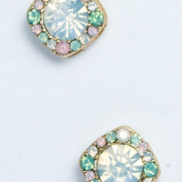 Nobel Crystal Stud Earrings