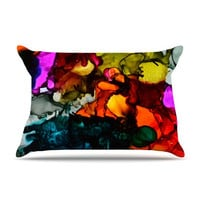 Claire Day &quot;Hippie Love Child&quot; Pillow Case | KESS InHouse