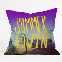 DENY Designs Home Accessories | Leah Flores Summer Lovin Outdoor Throw Pillow