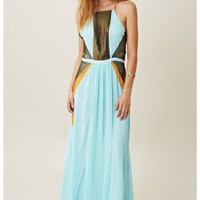 Suboo Maxi Pleated Dress