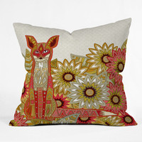DENY Designs Home Accessories | Sharon Turner Garden Fox Outdoor Throw Pillow