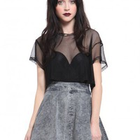 Acid Skater Skirt - Bottoms - Clothes | GYPSY WARRIOR