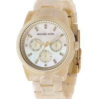 Michael Kors Women's Ritz Horn Watch