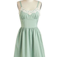 Appliques Now Accepted Dress | Mod Retro Vintage Dresses | ModCloth.com