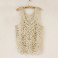 noble lace perspective vest
