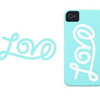 3&quot; Love iPhone sticker vinyl decal