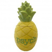 Psych Pineapple Cookie Jar