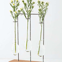 Anthropologie - Horizontal Chemist Vase