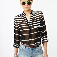 Line Up Blouse in  Clothes at Nasty Gal