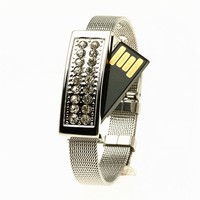 4GB USB Crystal Bracelet from The Geek Heaven
