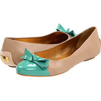 Kate Spade New York Tabby Natural Vachetta/Light Teal Patent - Zappos Couture