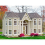 Walmart: Little Cottage 10 x 16 Grand Portico Mansion Wood Playhouse