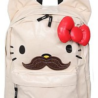 Loungefly Hello Kitty Mustache Backpack - 682855