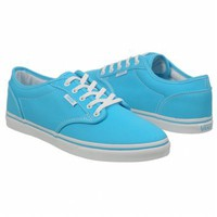 Athletics Vans Women's Atwood Lo Blue/White FamousFootwear.com