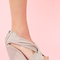 Twisted Platform Wedge  in  What's New at Nasty Gal