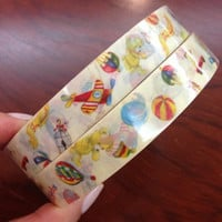 Nursery Toy Deco Tape Adhesive Stickers DT461 25 meters