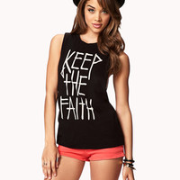 Keep The Faith Muscle Tee
