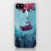 Mermaid iPhone & iPod Case by Serena Rocca