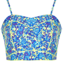 Floral Piped Crop Top - Tops - Clothing - Topshop USA