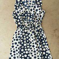 On The Dot Dress [3874] - $36.00 : Vintage Inspired Clothing & Affordable Fall Frocks, deloom | Modern. Vintage. Crafted.
