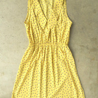 Flowers in the Sun Dress [3079] - $36.00 : Vintage Inspired Clothing & Affordable Fall Frocks, deloom | Modern. Vintage. Crafted.