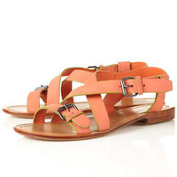 FLORIDA Simple Buckle Sandals - Flats - Shoes - Topshop