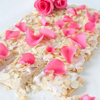 BiteDelite – food blog, recipes and photography  » Mazurek – polish cake with rose petals
