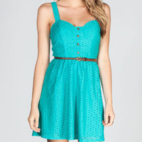 FULL TILT Crochet Overlay Dress 214332512 | Dresses | Tillys.com