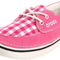 crocs Women's Hover Gingham Boat Shoe:Amazon:Shoes